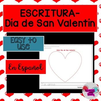 Escritura-Día de San Valentín