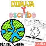 Escritura Día del Planeta Writing in Spanish