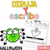 Escritura Halloween Writing in Spanish