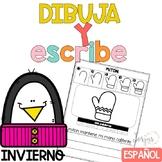 Escritura Invierno Writing in Spanish