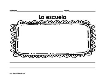 Escritura Kinder/Primero para la Primera Semana (Writers Workshop Spanish)