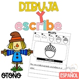 Escritura Otoño Writing in Spanish