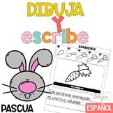 Escritura Pascua Writing in Spanish