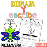Escritura Primavera Writing in Spanish