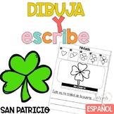 Escritura San Patricio Writing in Spanish