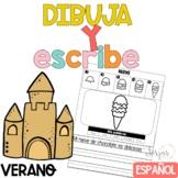 Escritura Verano Writing in Spanish