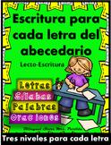 Escritura de Oraciones Fonéticas Alfabeto Consonantes Sila