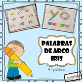 Escritura de alta frecuencia arco iris (rainbow write Spanish HFW)