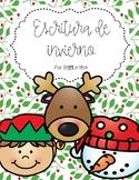 Escritura de invierno  (Winter Writing Spanish)