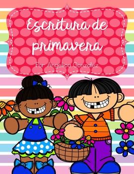 Escritura de primavera (Spring Writing SPANISH)