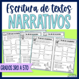 Escritura párrafos narrativos | Spanish Narrative Writing|
