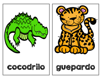 Escritura informativa- animales del zoológico (Informative writing SPANISH)