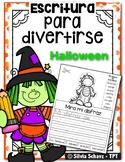 Escritura para divertirse - Halloween