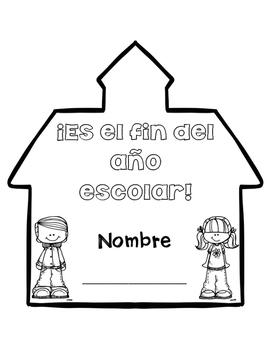 Escritura para el fin del año (End of year writing SPANISH)