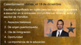 Escuchar - Entrevista con Lin-Manuel Miranda (Listening Activity)