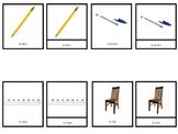 Escuela 1 Nomenclature (3 Part Cards)