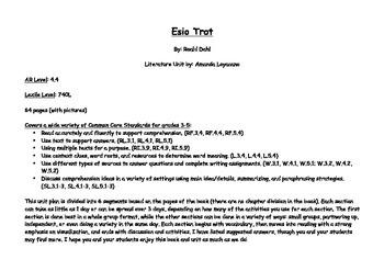 Esio Trot Novel Study