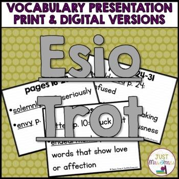 Esio Trot Vocabulary Presentation