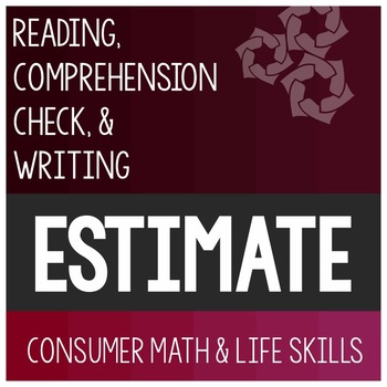 Esitmation Article- Consumer Math Special Education