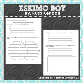 Eskimo Boy By Russ Kendall