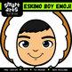 Eskimo Boy Emoji Clip Art