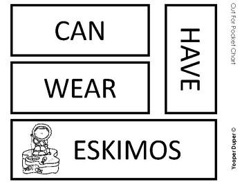 Eskimo Graphic Organizers