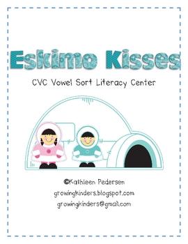Eskimo Kisses - A CVC Vowel Sort