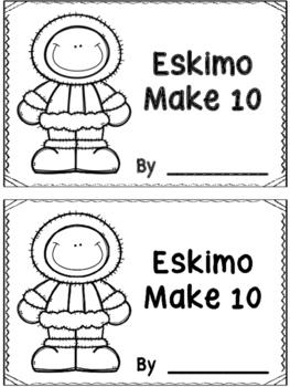 Eskimo Make 10 Booklet