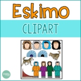 Eskimos {Winter Clip Art}
