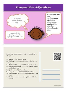Esl Grammar Postcards Small Pack for Young Learners [with QR codes]