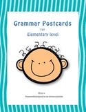 Esl Grammar Postcards for Young Learners [with QR codes]