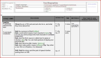 Esl Lesson: Consolidating wh- questions