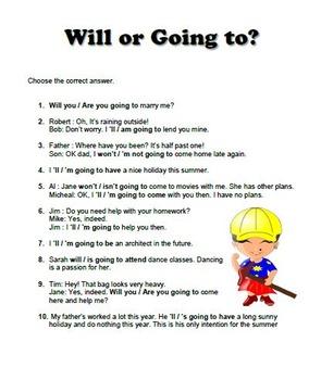 Esl Lesson: Future Plans and Promises