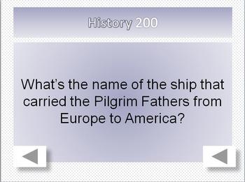 Esl Quiz Show: American Culture