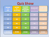 Esl Quiz Show: Elementary General Revision