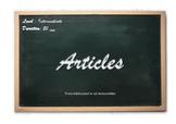 Esl lesson: articles