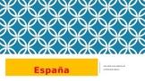 España; sus regiones y su historia.