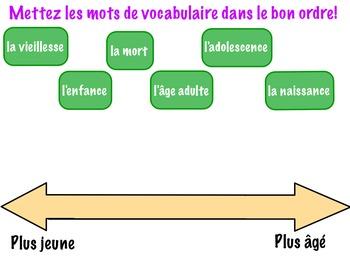 Espaces/Promenades Lesson 11 vocabulary activities