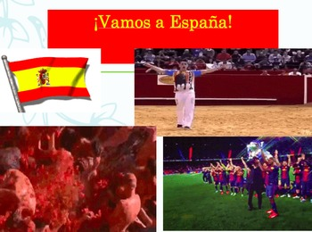 España: Presentation with guided questions and listening a