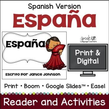 España Reader {Spain en español} & Vocab work ~ Simplified for Language Learners