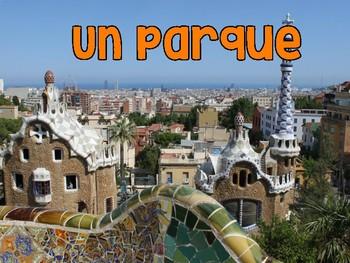 España - Spain photo bulletin board