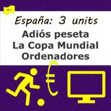 España: Adiós peseta (1), La Copa Mundial (2), Ordenadores (3) SP Beginners 2