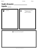 Graphic Organizer for TV Series