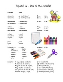 Espanol A y B Dia 10 La escuela WS