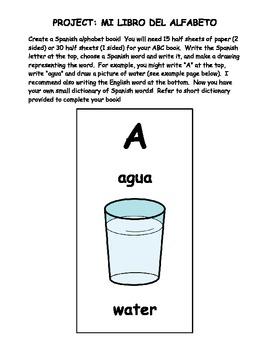 Espanol A y B Dia 3 El alfabeto WS