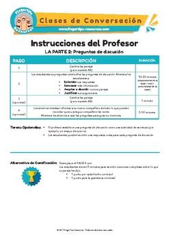 Español -  Clases de Conversación