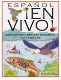 Español En Vivo Level 1 Instructional Spanish Workbook for Grades 4-8