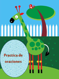 Español Formacion de Oraciones practica