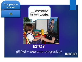 Español: Juego de SER vs ESTAR (2). (Ser vs. Estar. Jeopardy style game)