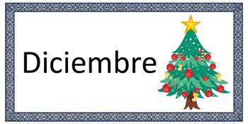 Spanish / Español -> Meses del año